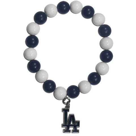 Los Angeles Dodgers Fan Bead Bracelet