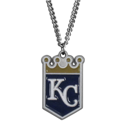Kansas City Royals Chain Necklace with Small Charm