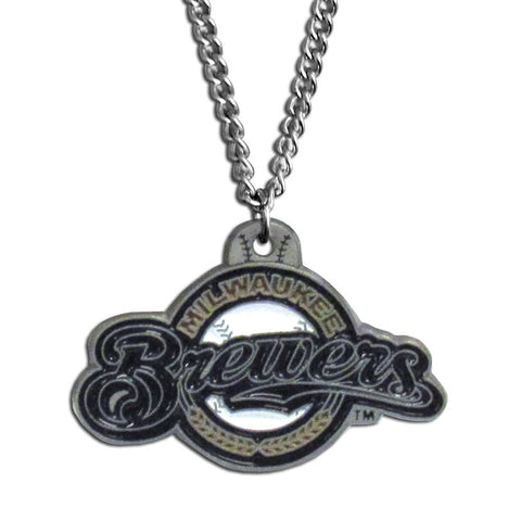 Milwaukee Brewers Classic Chain Necklace