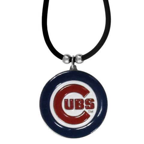 Chicago Cubs Rubber Cord Necklace
