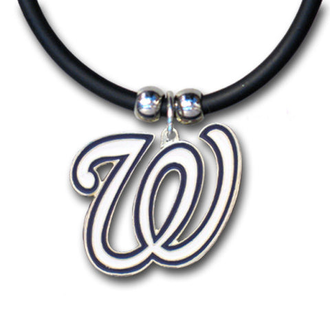 Washington Nationals Rubber Cord Necklace