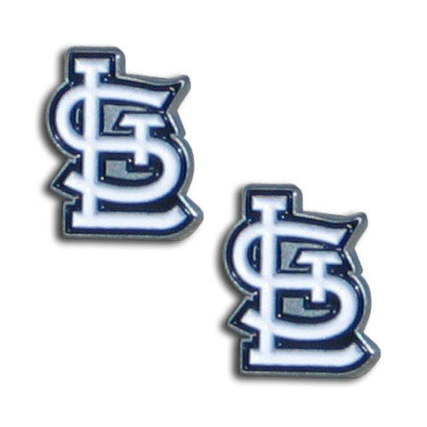 St. Louis Cardinals Stud Earrings