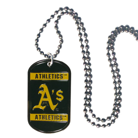 Oakland Athletics Tag Necklace