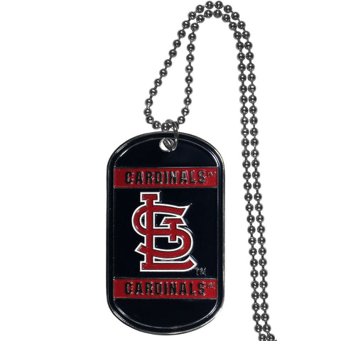 St. Louis Cardinals Tag Necklace