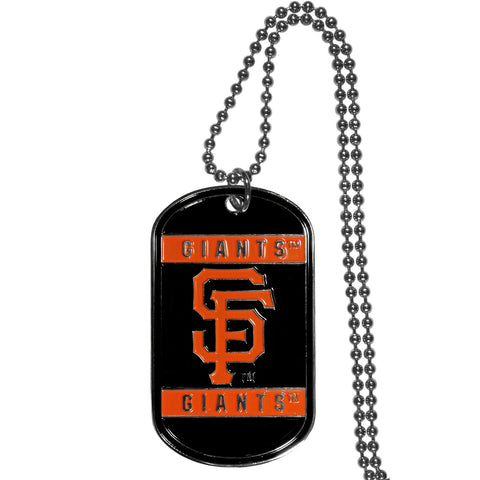 San Francisco Giants Tag Necklace