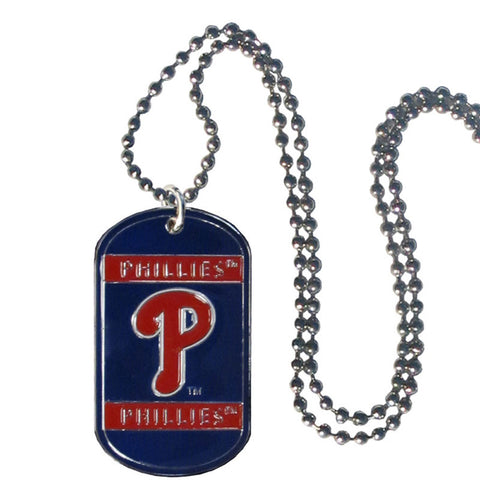 Philadelphia Phillies Tag Necklace