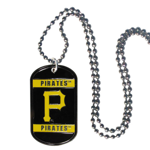 Pittsburgh Pirates Tag Necklace