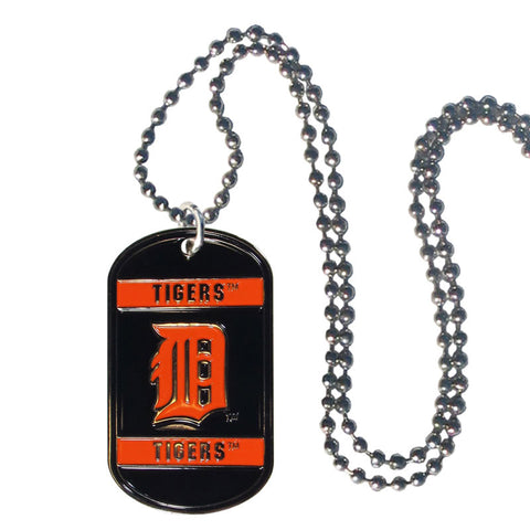 Detroit Tigers Tag Necklace