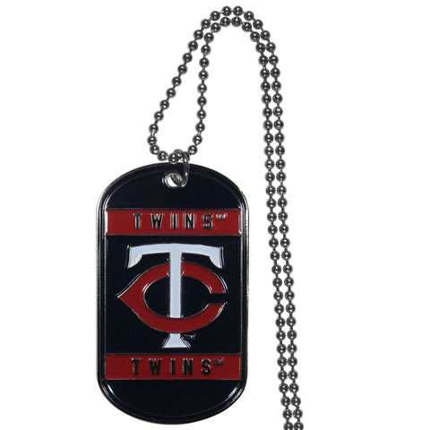 Minnesota Twins Tag Necklace