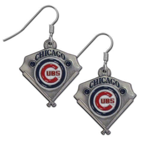 Chicago Cubs Classic Dangle Earrings