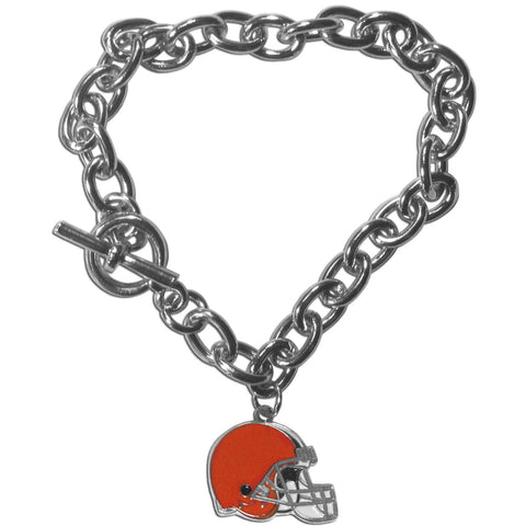 Cleveland Browns Charm Chain Bracelet