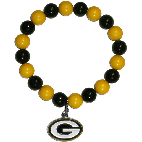 FGreen Bay Packers Fan Bead Bracelet