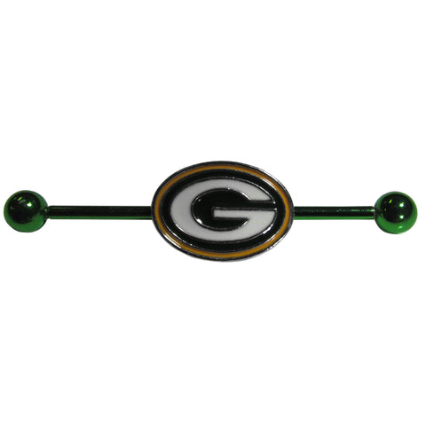 Green Bay Packers Industrial Slider Barbell