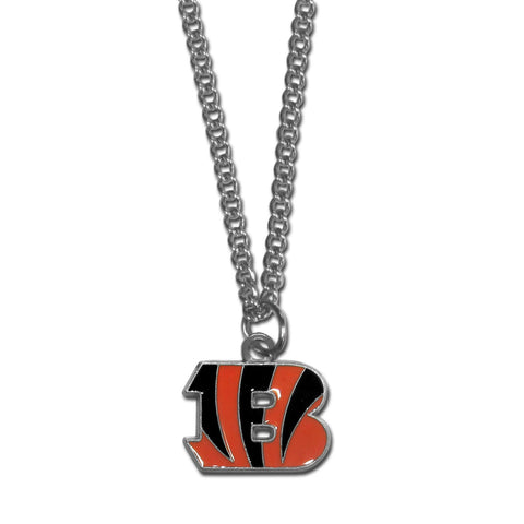 Cincinnati Bengals Chain Necklace with Small Charm