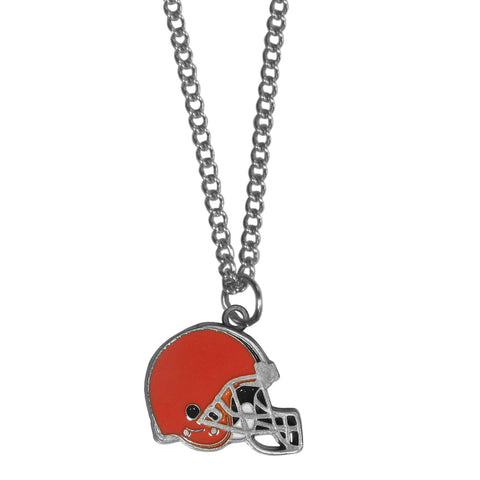 Cleveland Browns Chain Necklace with Small Charm