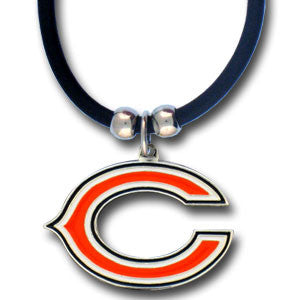Chicago Bears Rubber Cord Necklace