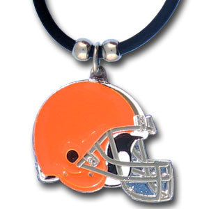 Cleveland Browns Rubber Cord Necklace