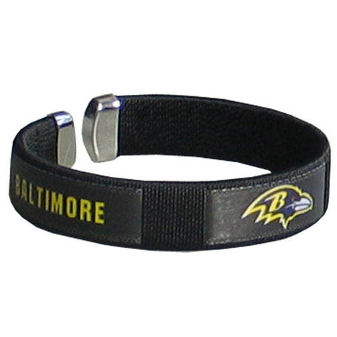 Baltimore Ravens Fan Bracelet