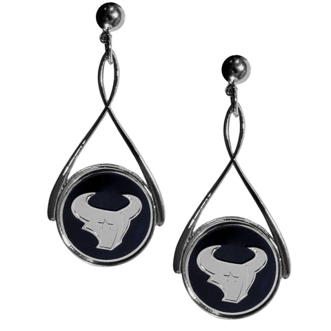 Houston Texans Tear Drop Earrings