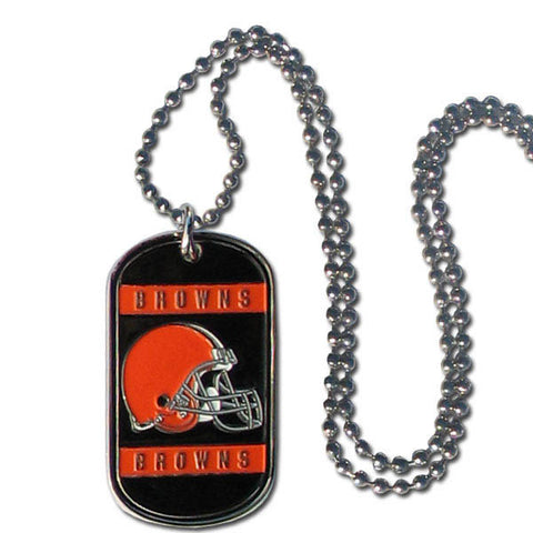 Cleveland Browns Tag Necklace