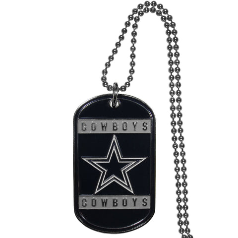 Dallas Cowboys Tag Necklace