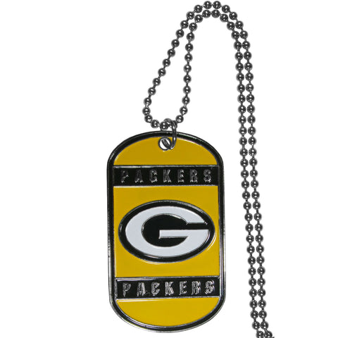 Green Bay Packers Tag Necklace
