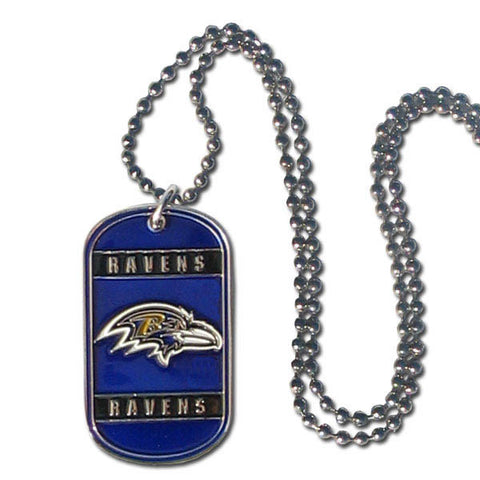 Baltimore Ravens Tag Necklace