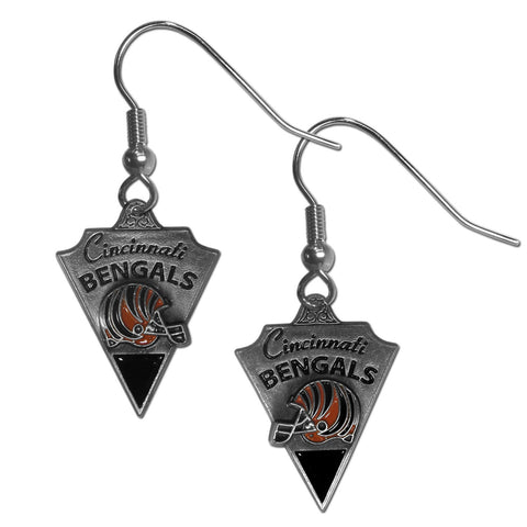 Cincinnati Bengals Classic Dangle Earrings
