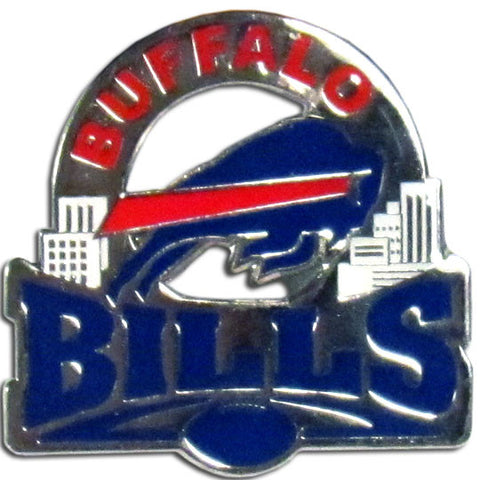 Buffalo Bills Glossy Team Pin
