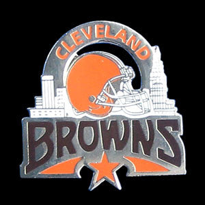Cleveland Browns Glossy Team Pin