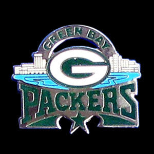 Green Bay Packers Glossy Team Pin