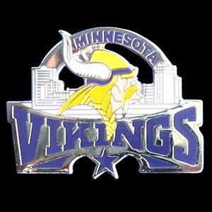 Minnesota Vikings Glossy Team Pin