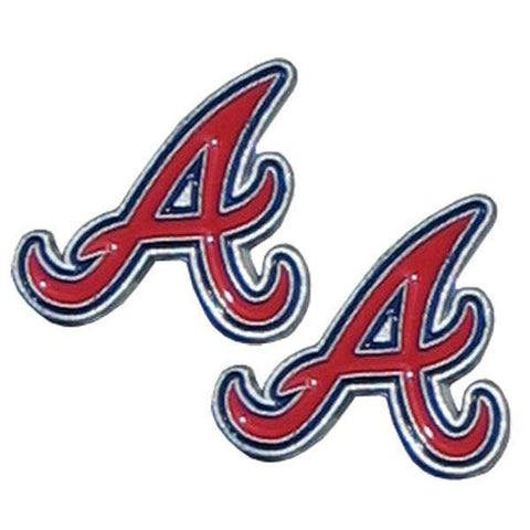 Atlanta Braves Stud Earrings