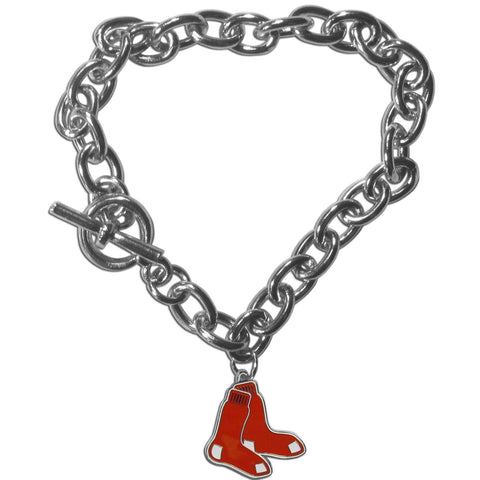 Boston Red Sox Charm Chain Bracelet