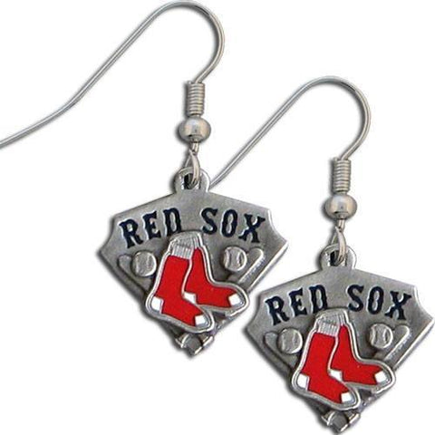 Boston Red Sox Classic Dangle Earrings