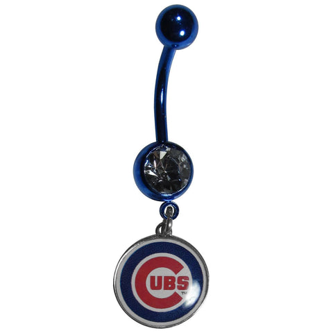 Chicago Cubs Navel Ring