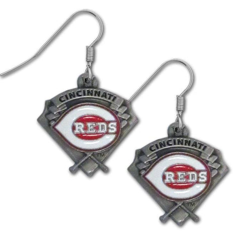 Cincinnati Reds Classic Dangle Earrings