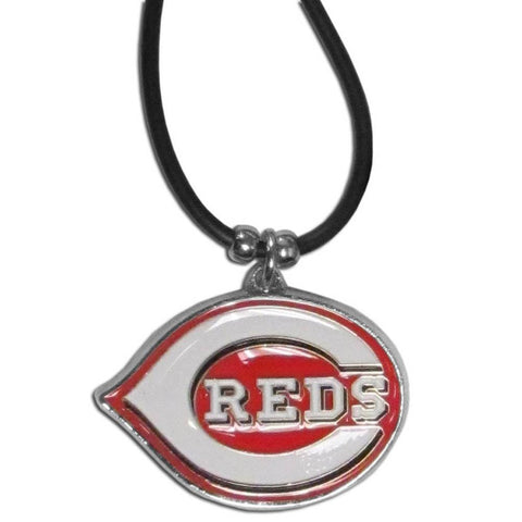Cincinnati Reds Rubber Cord Necklace