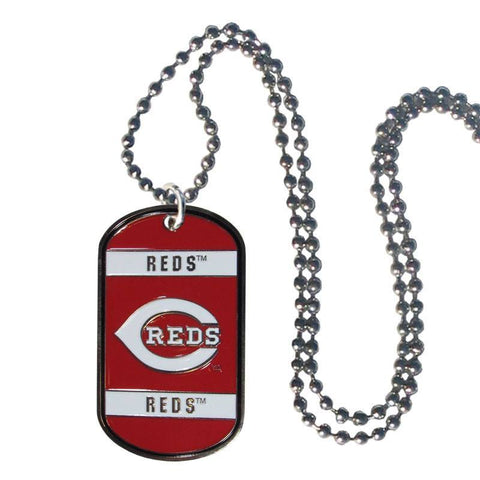 Cincinnati Reds Tag Necklace