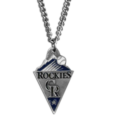 Colorado Rockies Classic Chain Necklace