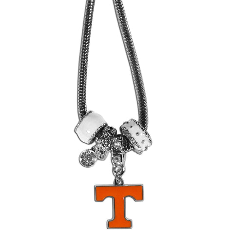 Euro Bead Necklace - Tennessee Volunteers Euro Bead Necklace