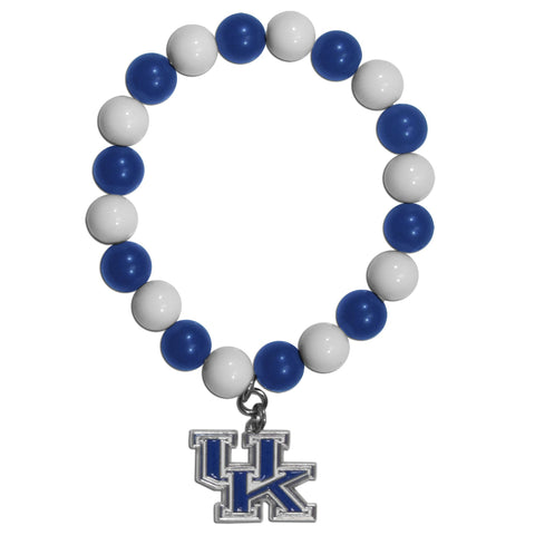 Fan Bead Bracelet - Kentucky Wildcats Fan Bead Bracelet