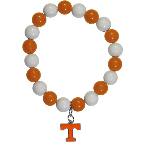 Fan Bead Bracelet - Tennessee Volunteers Fan Bead Bracelet