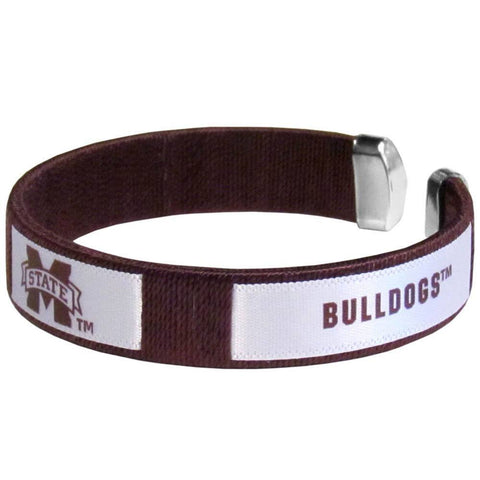 Fan Bracelet - Mississippi St. Bulldogs Fan Bracelet