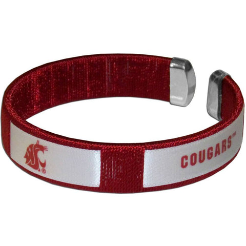 Fan Bracelet - Washington St. Cougars Fan Bracelet