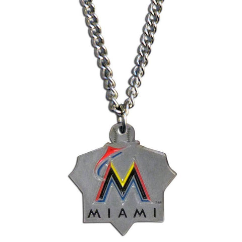 Miami Marlins Classic Chain Necklace