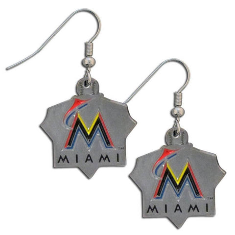 Miami Marlins Classic Dangle Earrings