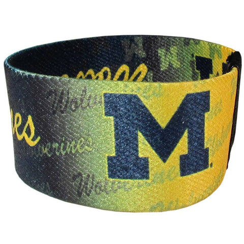 Stretch Bracelets - Michigan Wolverines Stretch Bracelets