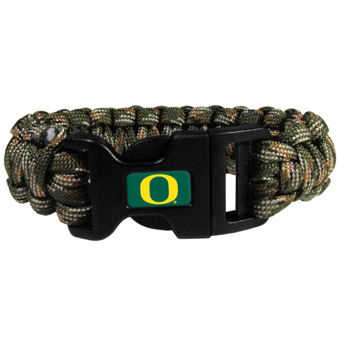 Survivor Bracelet - Oregon Ducks Camo Survivor Bracelet