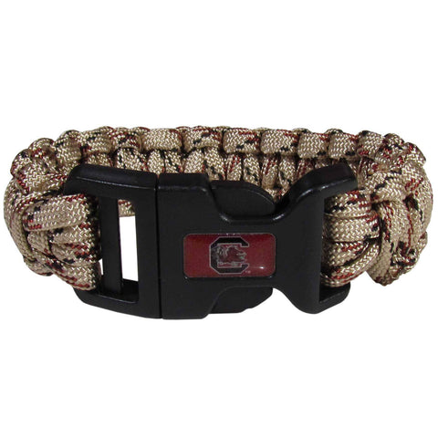 Survivor Bracelet - S. Carolina Gamecocks Camo Survivor Bracelet